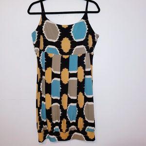 Tiana B.  Multicolor pleated Dress. Large